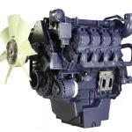 model silnika deutz z białym wiatrakiem