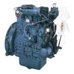 nowoczesny niebieski silnik kubota