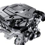 nowoczesny silnik mercedes