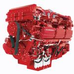 czerwony model silniku cummins