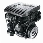 wysokoprężny model silnika, koloru czarnego