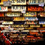 Jakie są rodzaje tablic rejestracyjnych?
